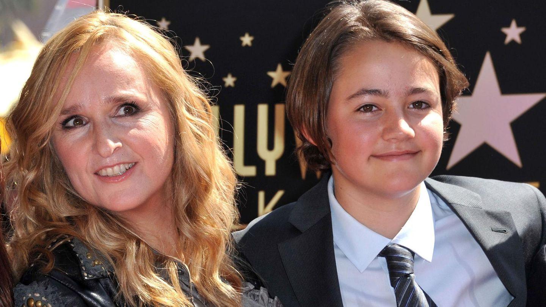 Melissa Etheridge und ihr Sohn Beckett im Jahr 2011