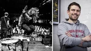 Konzert der Band KMPFSPRT – Mirko Gläser, Geschäftsführer Uncle M