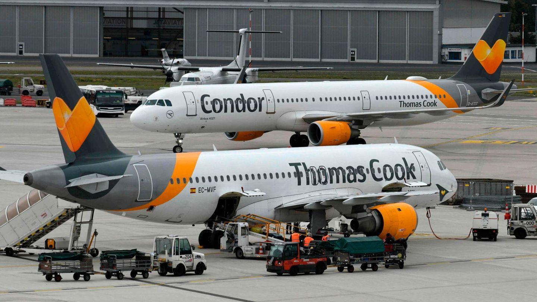 Der Reiseveranstalter und die Fluggesellschaft Thomas Cook gingen im September 2019 in die Insolvenz. Diedeutsche Tochterfirma Condor hat von der Bundesregierung und dem Land Hessen einen Kredit über 550 Millionen Euro erhalten.