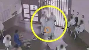 Video soll zeigen, wie sich Gefängnis-Insassen absichtlich mit Covid-19 anstecken