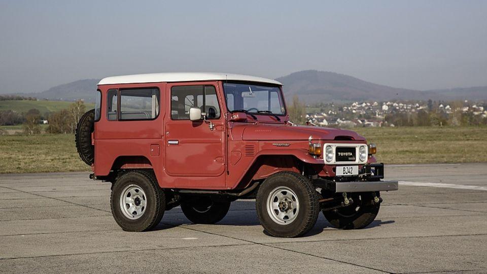 Toyota Land Cruiser BJ 42 von 1982