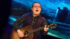Angelo Kelly singt bei der Generalprobe vor einer TV-Aufzeichnung