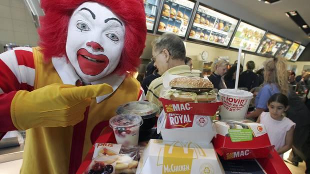 Schnellrestaurant McDonald's