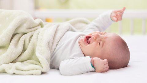 Wenn das Baby nicht schlafen kann