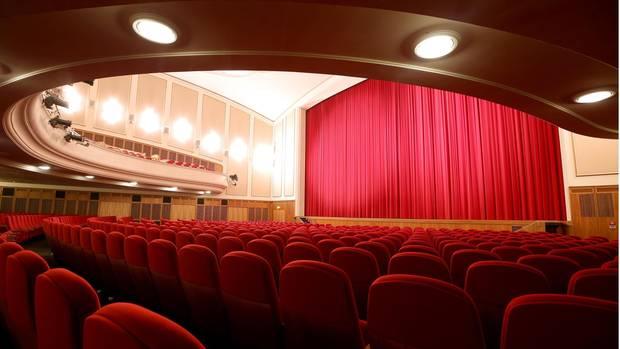 Kinosaal des Lichtburg-Kinos in Essen