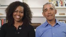 """Barack und Michelle Obama lesen das Kinderbuch """"Der Wortsammler"""" vor."""
