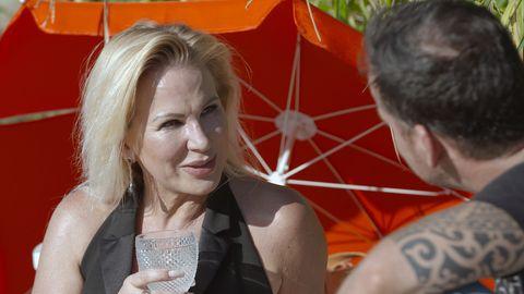 "Claudia Norberg bei ""Match! Promis auf Datingkurs"""