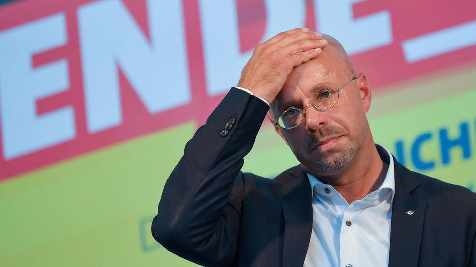 Andreas Kalbitz, AfD-Landesvorsitzenden in Brandenburg