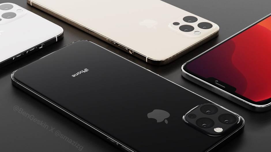 So stellt sich der Designer Ben Geskin das iPhone 12 vor.