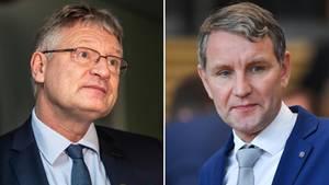 Jörg Meuthen (l.) und Björn Höcke