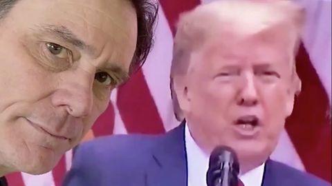 Jim Carrey und Donald Trump