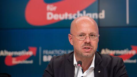 Andreas Kalbitz, Fraktionsvorsitzender der Brandenburger AfD