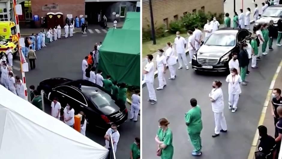 Belgien: Aus Protest: Krankenschwestern und Pfleger zeigen Regierungschefin die kalte Schulter