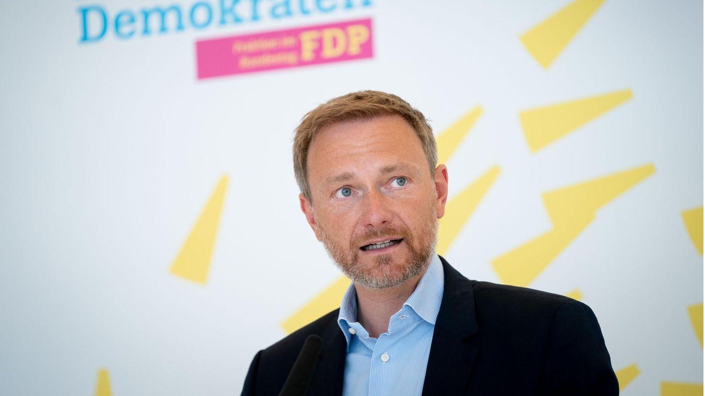Christian Lindner, Partei- und Bundestagsfraktionsvorsitzender der FDP