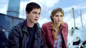 """Percy Jackson: Sea of the Monsters"" -  Logan Lerman und Alexandra Daddario"