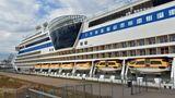 """Die 253 Meter lange und zehn Jahre alte """"Aida Blu"""" war am 30. April in Gibraltar aufgebrochen und hatte Hamburg am 5. Mai erreicht."""