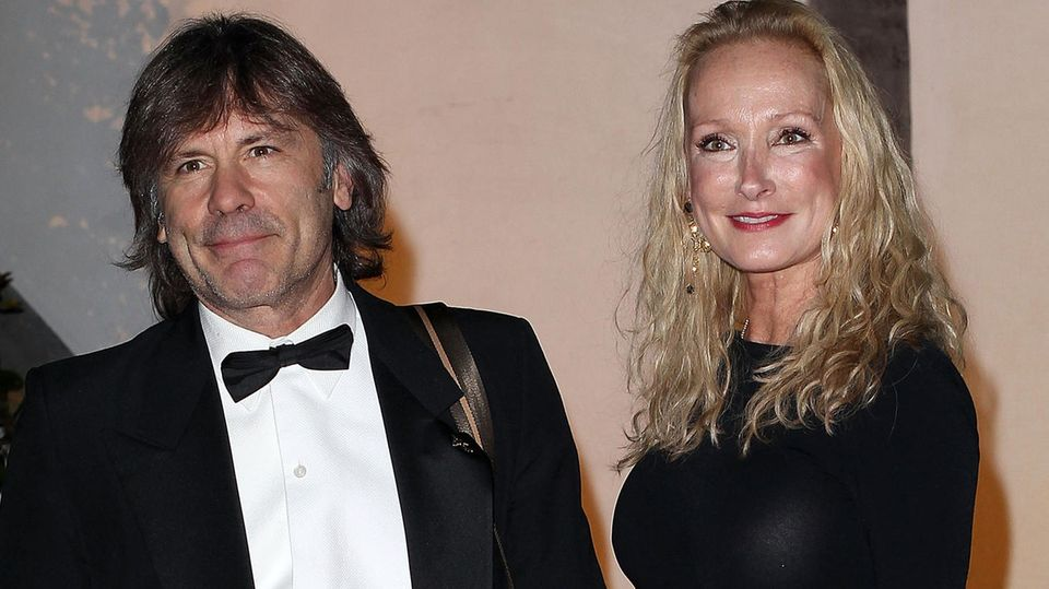 Bruce Dickinson und seine Frau Paddy Bowden