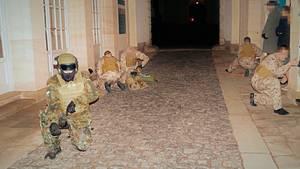 Solche Bilder zeigted der paramilitärischen Verein Uniter auf seiner Webseite
