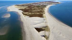 Die Südspitze der Insel Sylt aus der Luft fotografiert