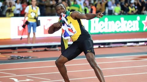 Sprintlegende Usain Bolt