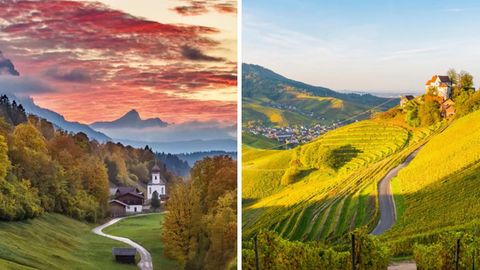 Das sind die schönsten Roadtrip-Strecken Deutschlands