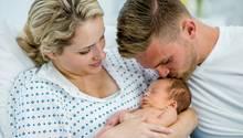 Nach der Geburt gibt die Pullerparty