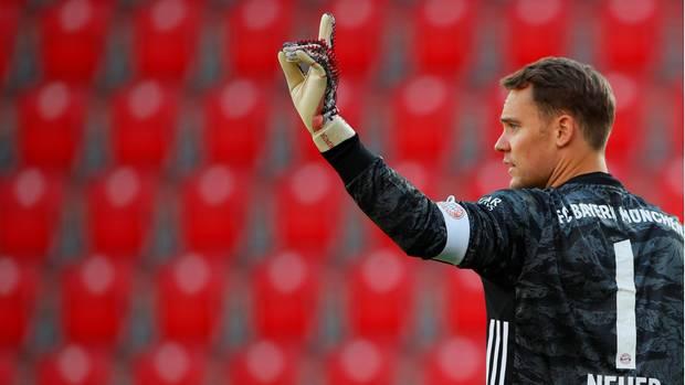 Nationaltorwart Manuel Neuer wird weiter im Dienste des FC Bayern München stehen