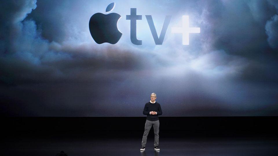 Mit dem Streaming-Dienst Apple TV+ positionierte sich der iPhone-Konzern gegen Netflix und Co.