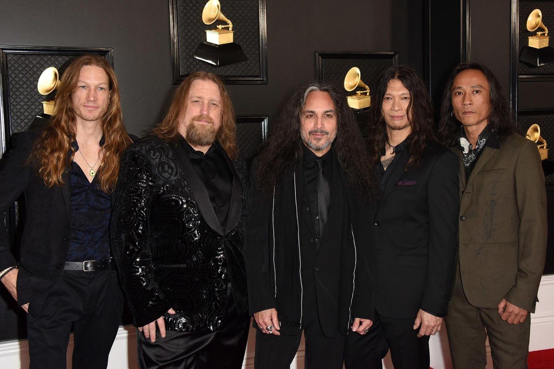 """""""Death Angel"""": Will Caroll (zweiter von links) ist der Drummer der Trash-Metal-Band """"Death Angel"""""""