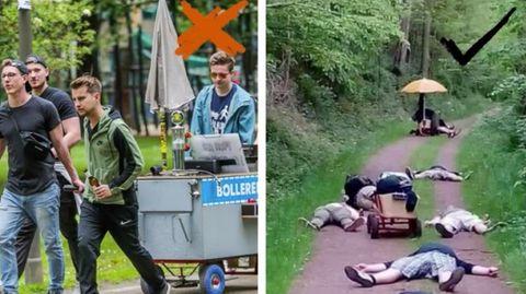 Touristenattraktion: Die vielleicht beste Idee überhaupt: In Birmingham kann man auf Einhörnern reiten
