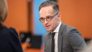 """Außenminister Heiko Maas will die USA überreden, am Abkommen """"Offener Himmel"""" festzuhalten"""
