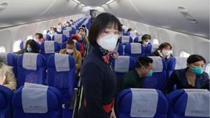 Sitze oder Sitzreihen sollen laut den EU-Leitlinien frei bleiben, wenn die Passagierzahl dies erlaubt. Anderenfalls soll auf die strikte Einhaltung aller anderen Schutzmaßnahmen geachtet werden