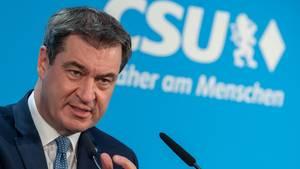 Markus Söder (CSU), Ministerpräsident von Bayern und CSU-Parteivorsitzender