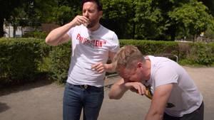 Oliver Pocher und Michael Wendler betrinken sich am Vatertag - für Pocher hat das üble Folgen