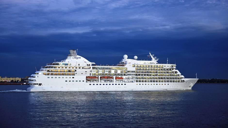 """Das Kreuzfahrtschiff """"Seven Seas Navigator"""" ist eines von fünf Schiffen in der Flotte vonRegent Seven Seas Cruises"""