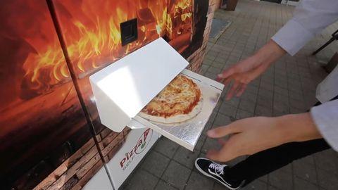 Augsburg: Erster Pizza-Automat geht an den Start