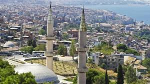 Blick auf Izmir