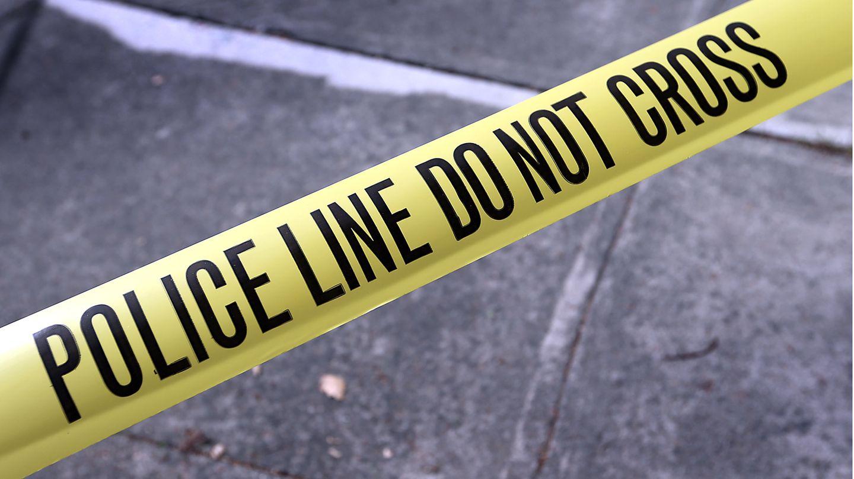Eine Polizeiabsperrung in den USA