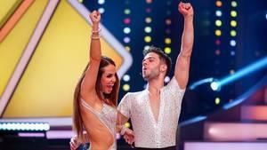 """""""Let's Dance"""": Luca Hänni und Tanzpartnerin Christina Luft landeten auf dem dritten Platz"""