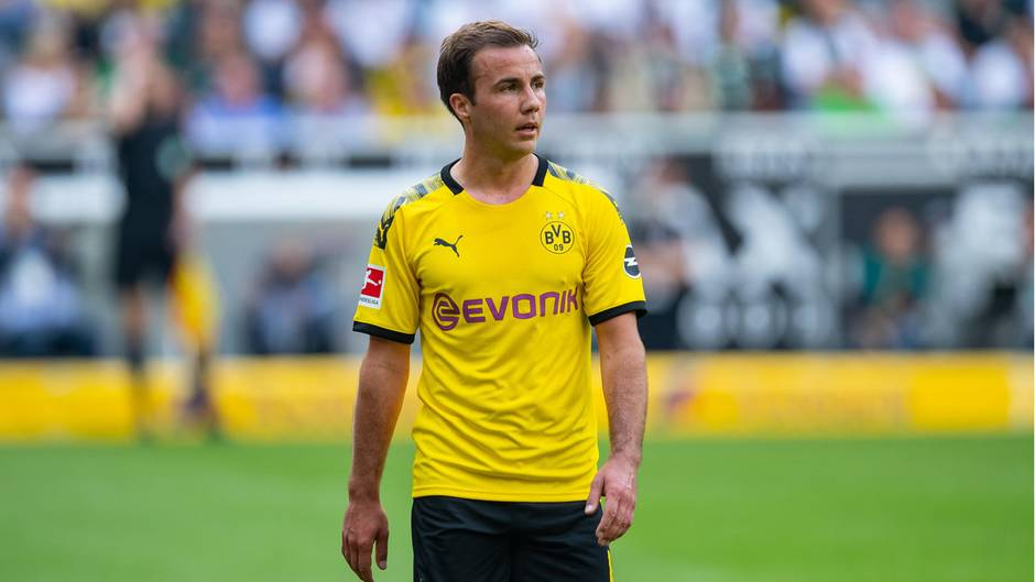 Dortmunds Mario Götze