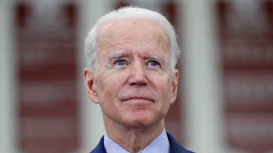Joe Biden, ehemaliger US-Vizepräsident und Bewerber um die Präsidentschaftskandidatur der Demokraten