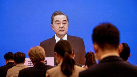 Der chinesische AußenministerWang Yi