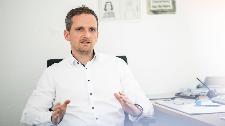 Lutz Ehlkes ist Coronavirus-Detektiv