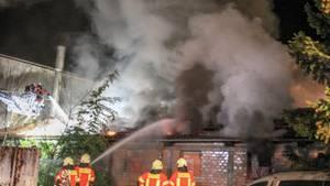Feuer in Crailsheim