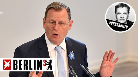 Fährt die Corona-Maßnahmen in seinem Bundesland massiv zurück: Thüringens Ministerpräsident Bodo Ramelow