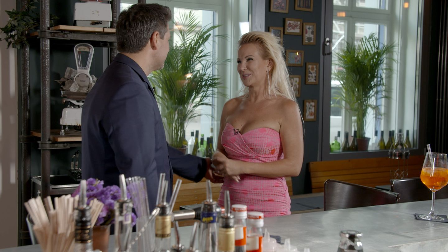 """Claudia Norberg bei der Datingshow """"Match"""""""