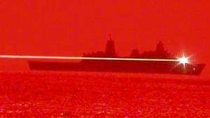 US Navy Laserkanone