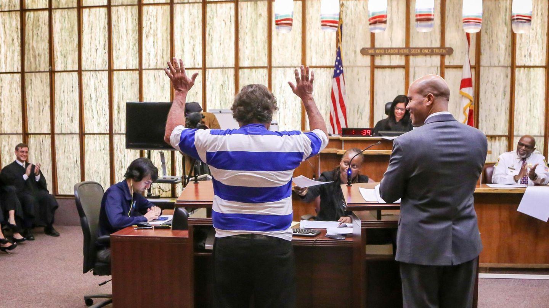 Häftling Florida Wahl Richter