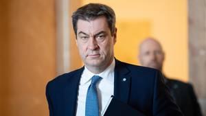 Markus Söder hält die Verlängerung der Kontaktbeschränkungen wegen der Corona-Pandemie bis Juli für richtig