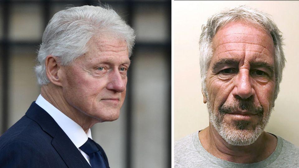 Bill Clinton Jeffrey Epstein